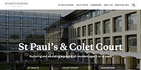 St Paul's School screenshot